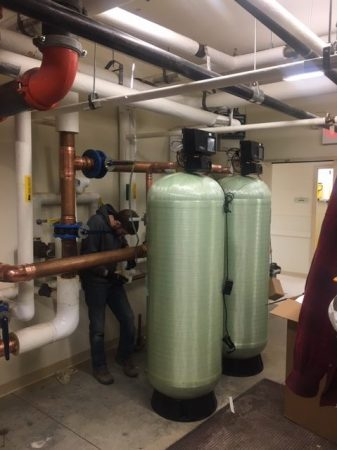 Commercial plumbing and heating