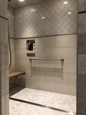 Age friendly shower installation near Pierre SD