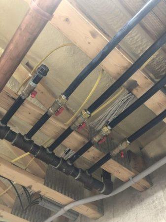 Gas pipe installation near Pierre SD